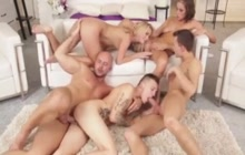 Wild Bisexual orgy